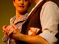 Emma Palmer and Steve Mouzakis - 2010 original cast